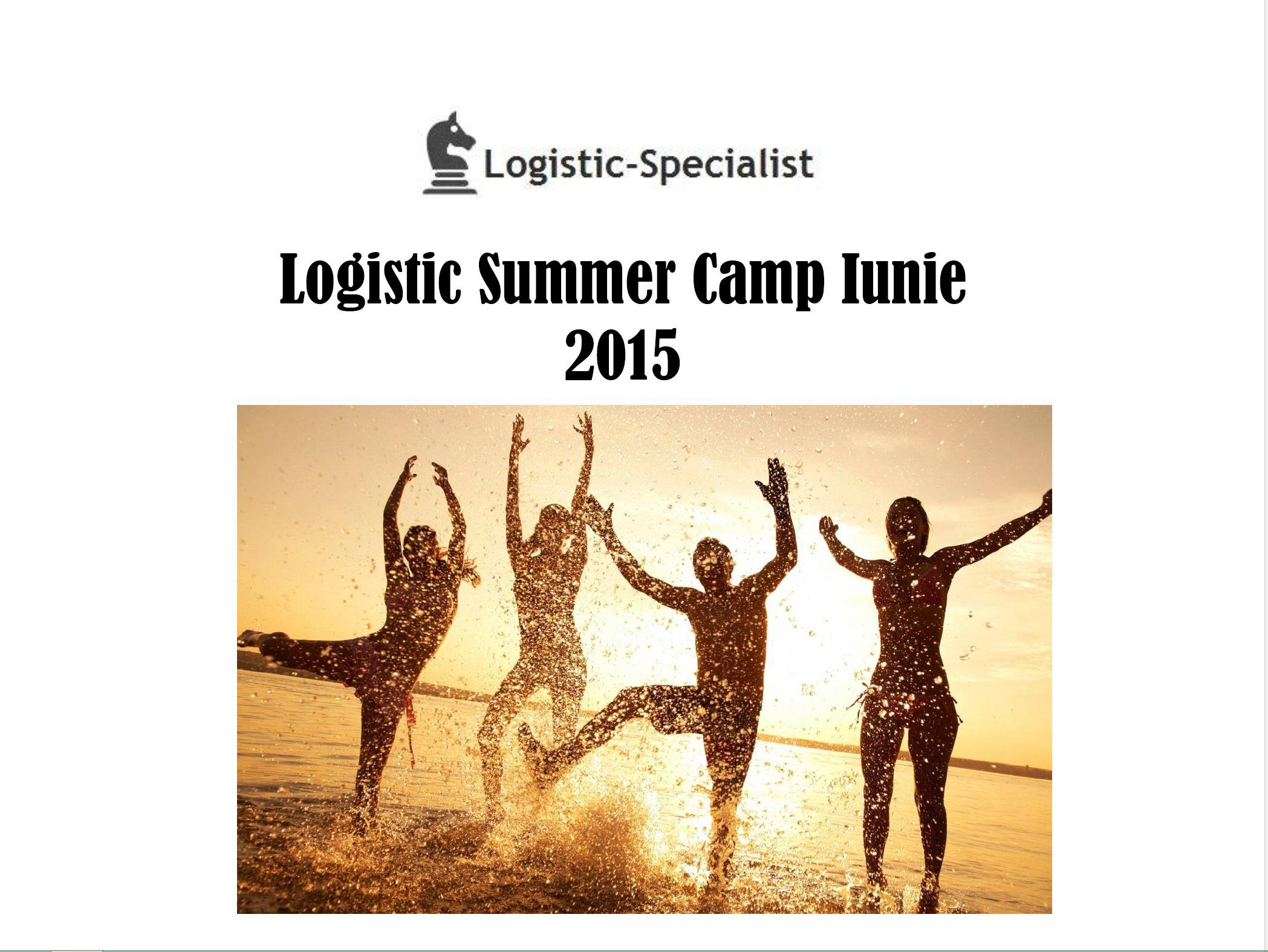 Logistic sumer camp iunie 2015