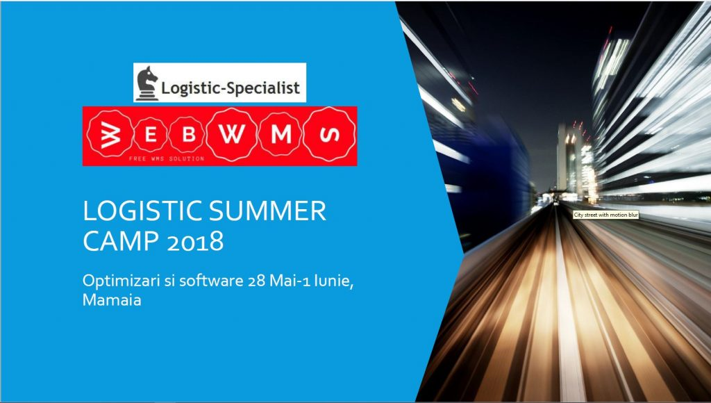 Logistic summer camp 2018